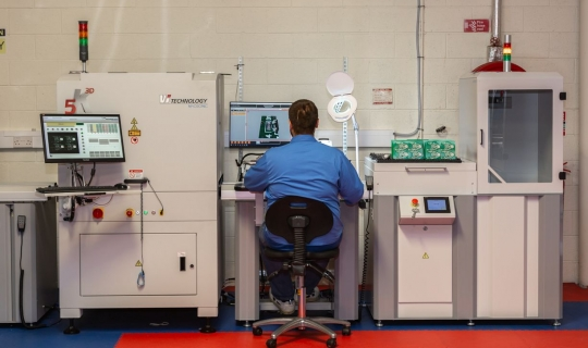 3D Automated Optical Inspection Line