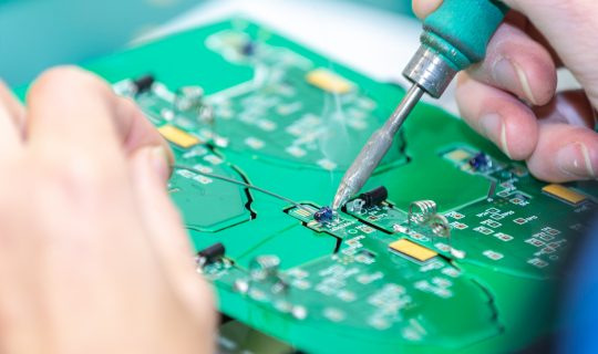 PCB Assembly Test at Smart Electronics